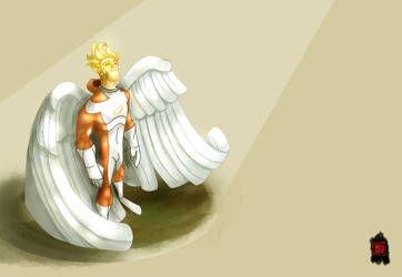Angel of Divinity by CheungKinMen