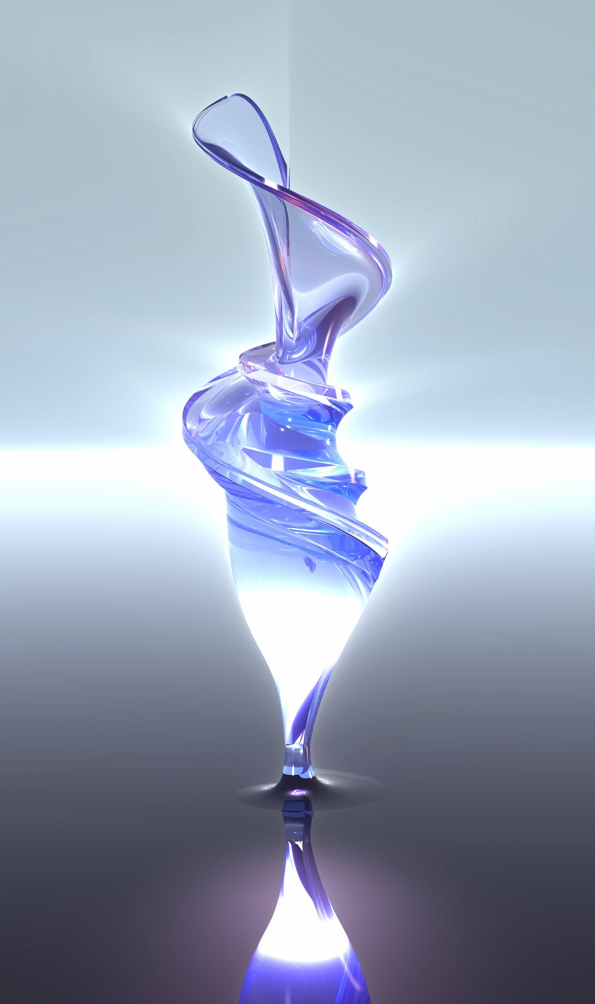 Glass Sculpture 2 by PersistentAura