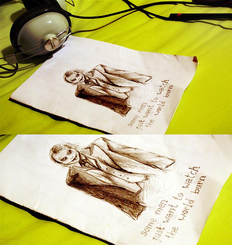 Joker sketch by oliviakutxi