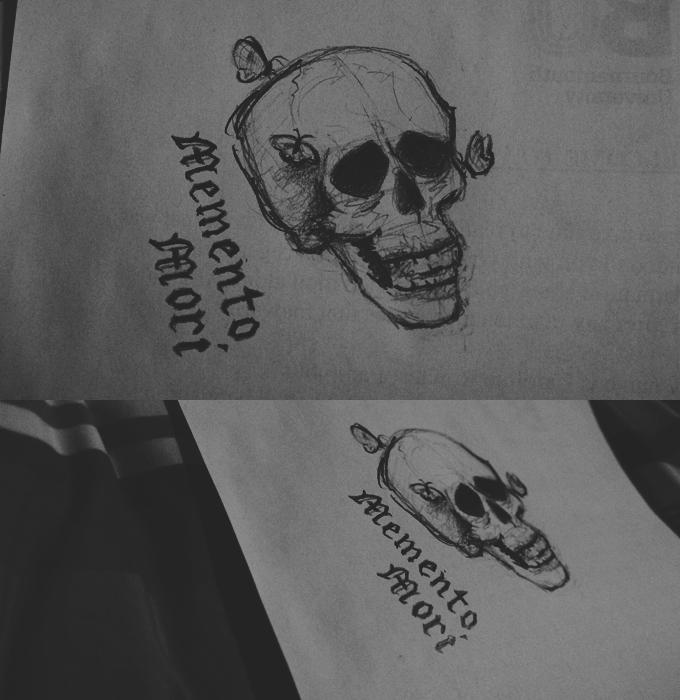 Memento mori by oliviakutxi