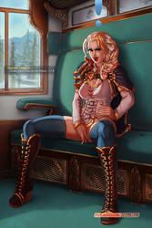 Jaina Proudmoore - Serve Your Queen by AdultArtMarmar