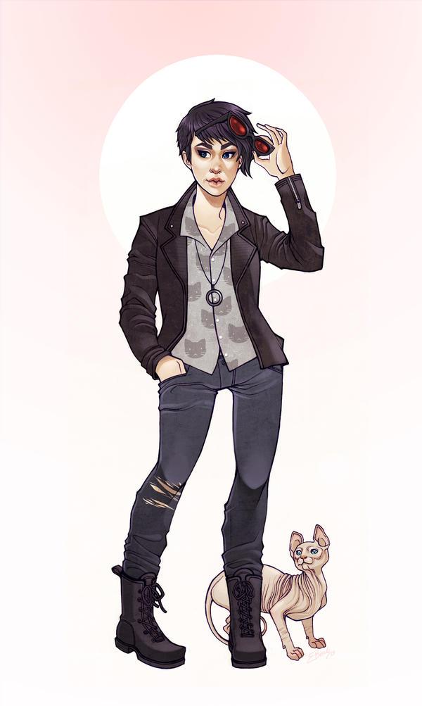 TNS: Catwoman by ElizabethBeals