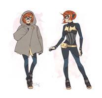 Batgirl Begins Again by ElizabethBeals