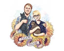 Tyler and  Talyn by ElizabethBeals