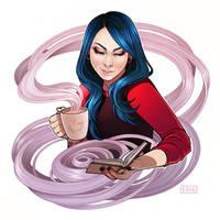 Bookworm by ElizabethBeals