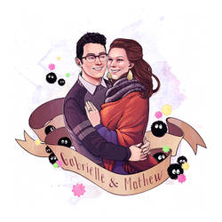 Gabrielle and Mathew by ElizabethBeals