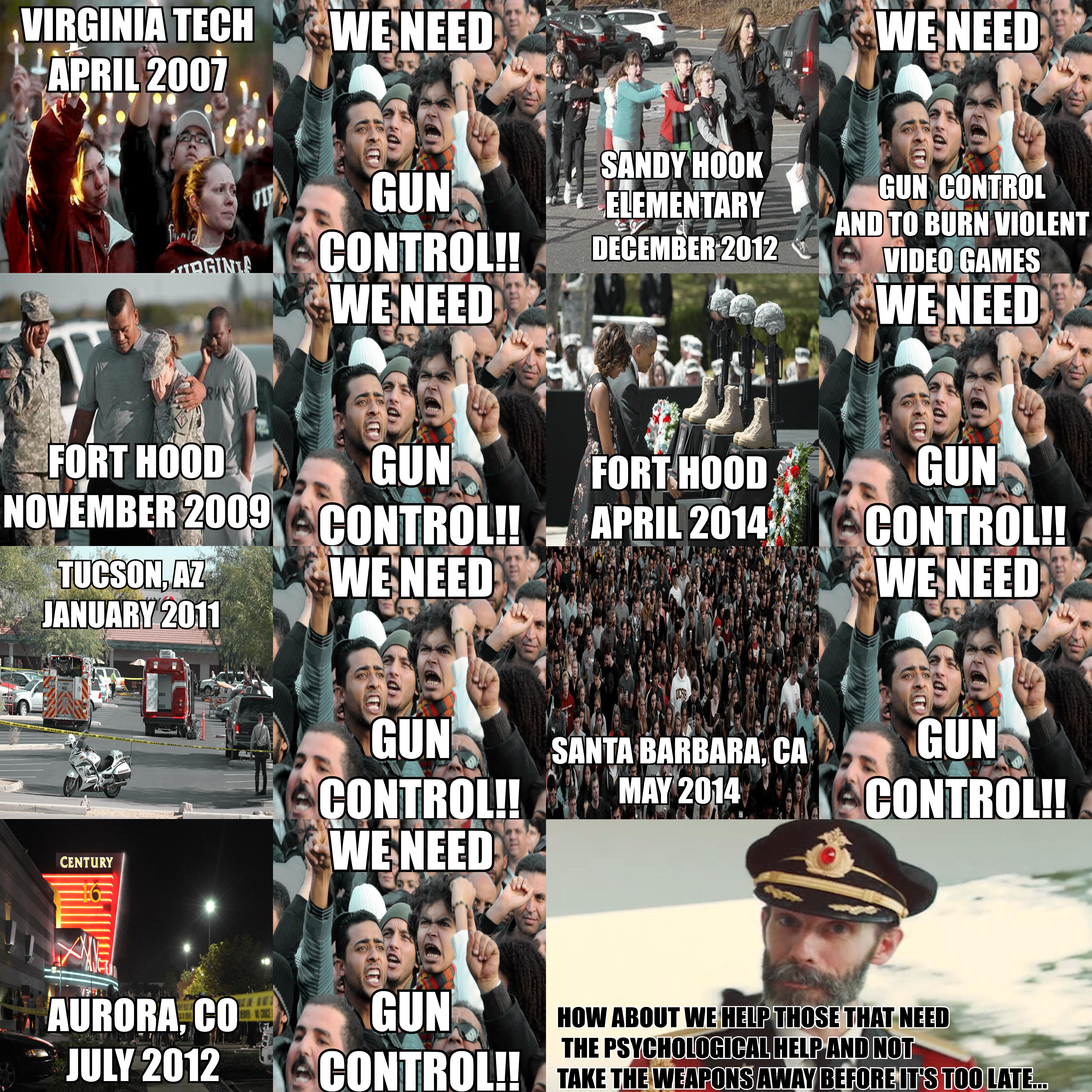 Gun Control Collage by JRfandaranter