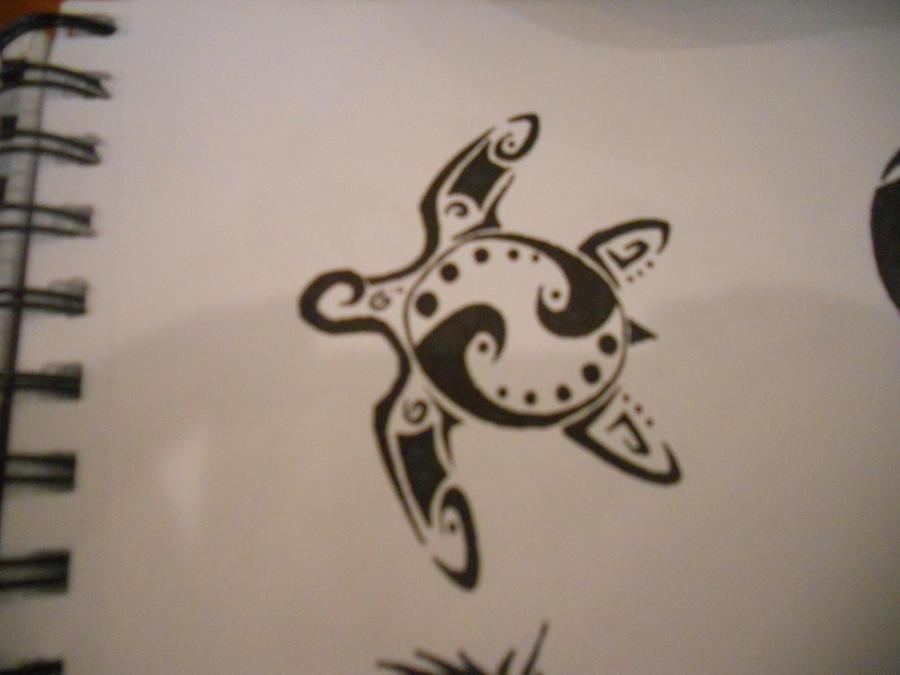 Tribal Turtle Drawings Sea Turtle Tribal by
