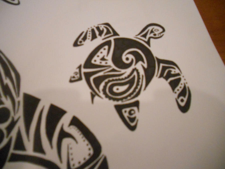 d9f586dc896f2 Sea Turtle Tribal Tattoo by mikaylamettler on DeviantArt