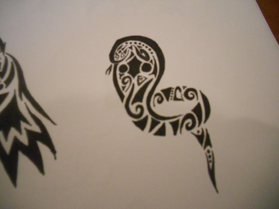 Tribal Cobra Tattoo by