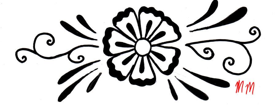 Flower design by mikaylamettler on deviantart for Images of designer
