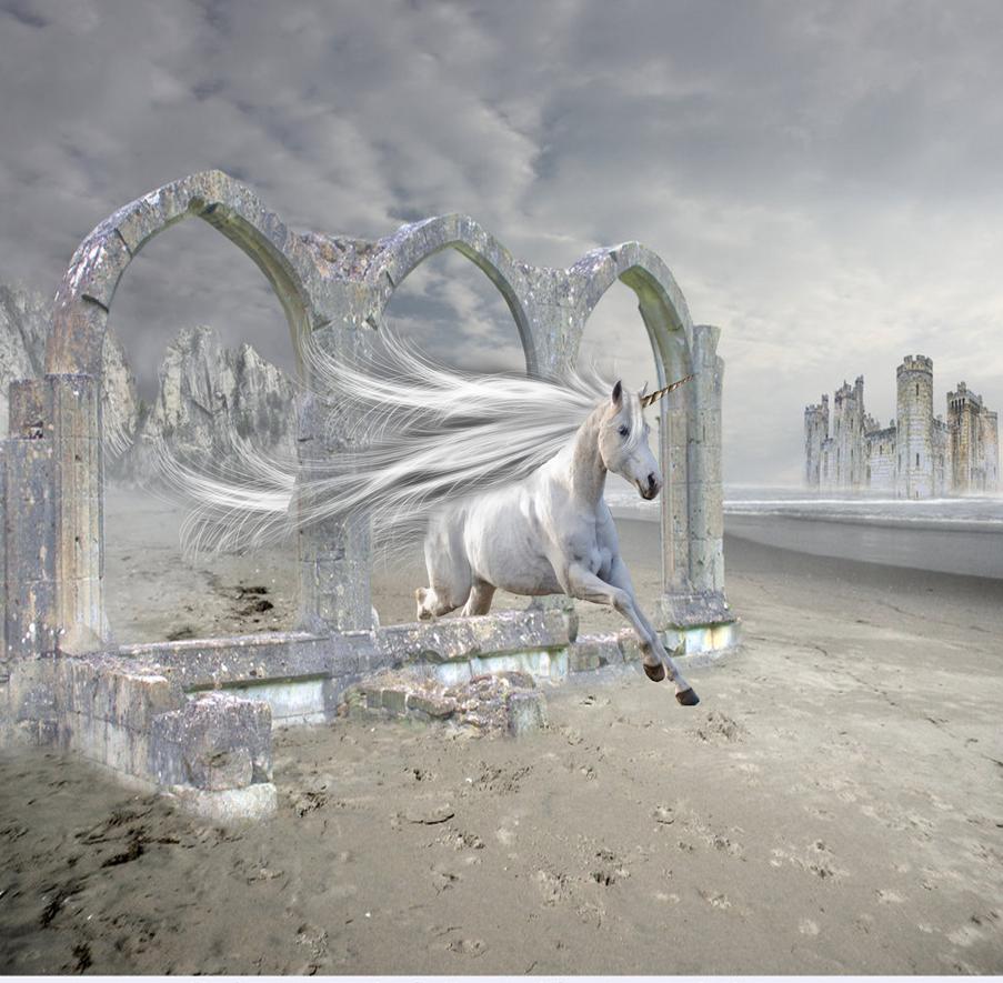 The sea unicorn by LittleLesbianSeaweed