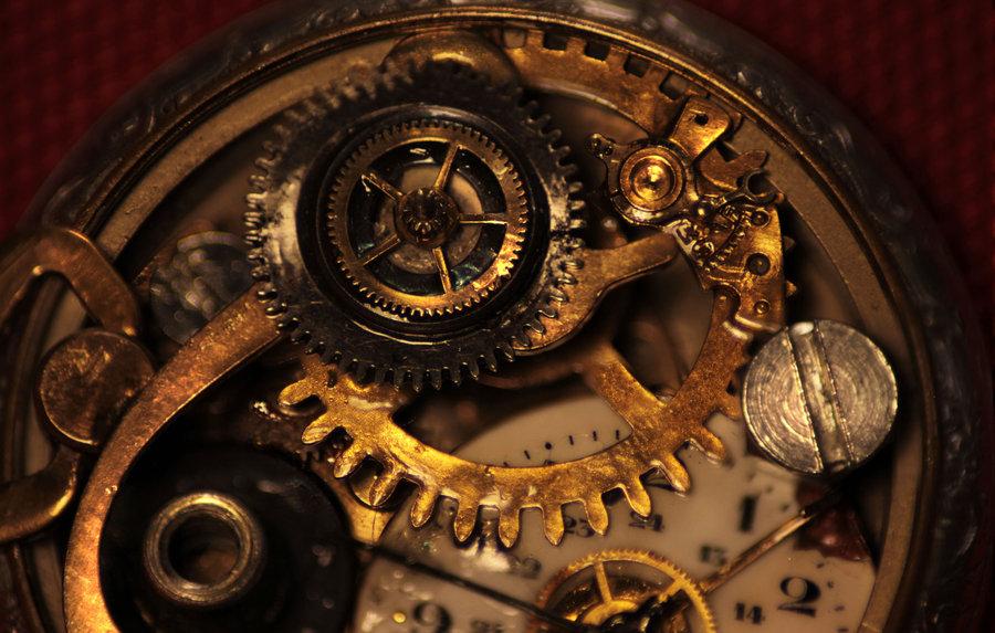 Clockwork - detail by Giudy-chan