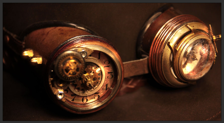 Steampunk Goggles by Giudy-chan