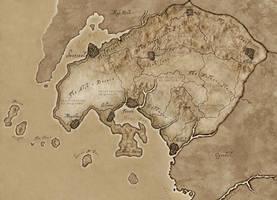 Hammerfell Ingame map