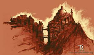 Hammerfell mountain city
