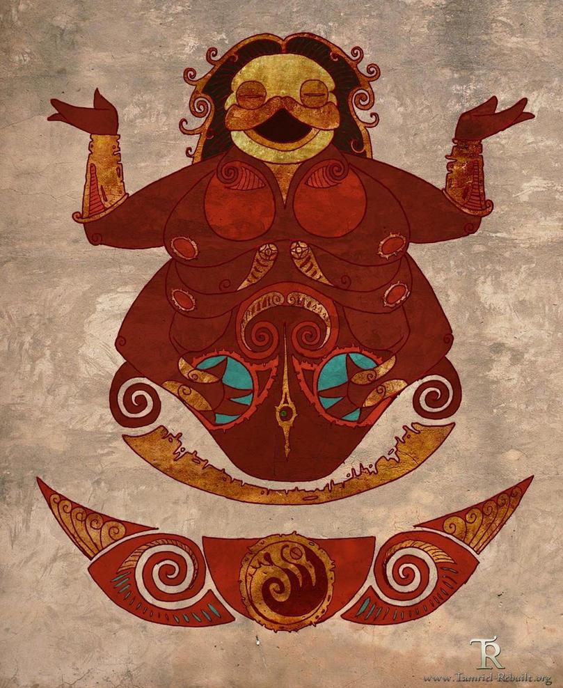 Morwha fresco by Tamriel-Rebuilt