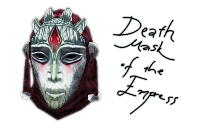 The Death Mask of Empress Katariah by Tamriel-Rebuilt