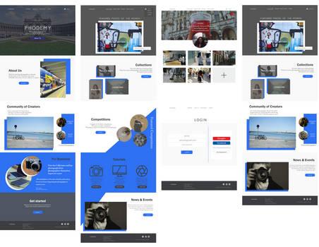 Phodemy UI Design