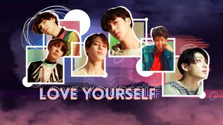 BTS Love Yourself Wallpaper