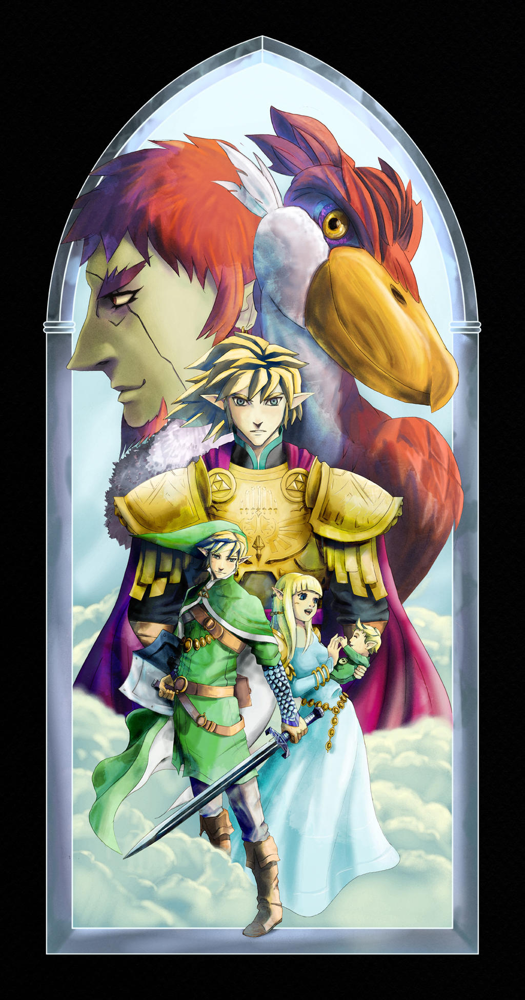 Zelda Homage by zokouson