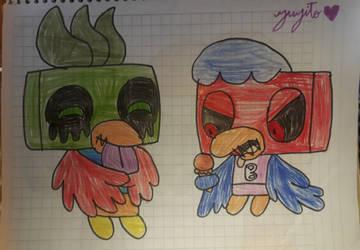 MHS:brother birds Frozen Treats by suckaysuAmigos200