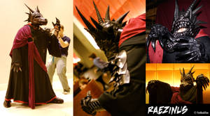 Raezinus Costume by FireBookDuo