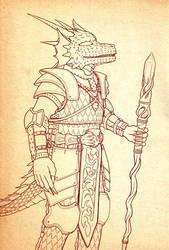 Raezinus' Armor by FireBookDuo