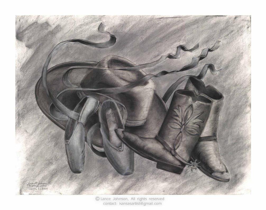 Western Ballet series 3 by KansasArtist