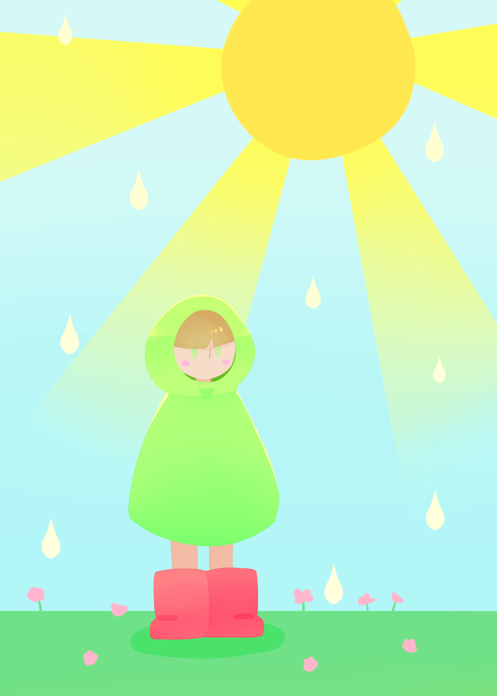 Sunshower by GreenPatch on DeviantArt # Sunshower Love_194845