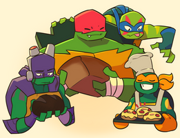 Bread Bros by Green-Patch