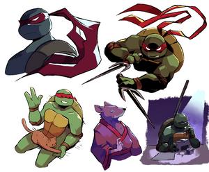 Mirage Turtles