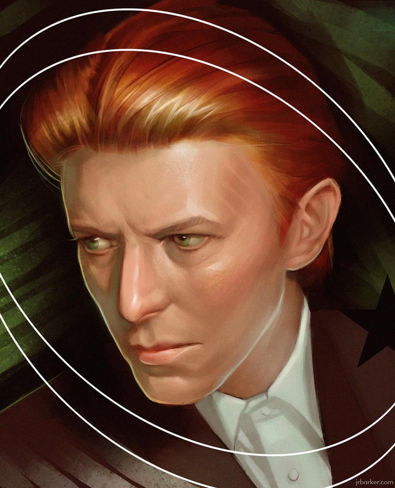 David Bowie by jrbarker
