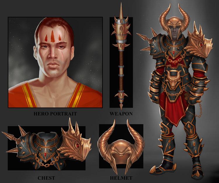 Spikey Warrior by jrbarker