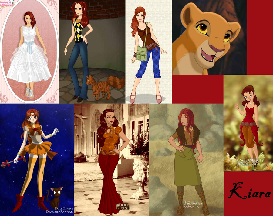 Kiara Human Collage by Piggie50 on DeviantArt