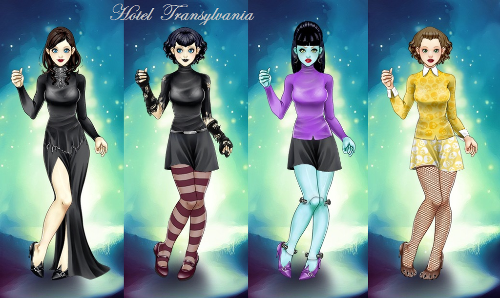Hotel Transylvania Girls By Piggie50