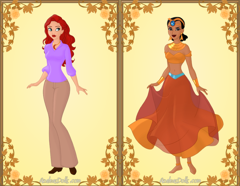 The Mummy Animated Series Women by Piggie50
