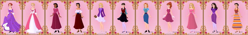 American Girl Dolls 1 by Piggie50