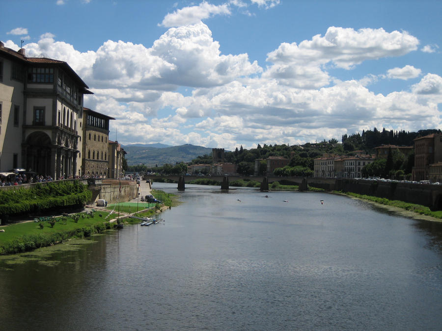 the river Arno by remmy77