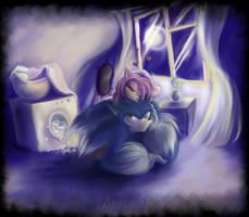 Amy and fluffy Sonic-werehog