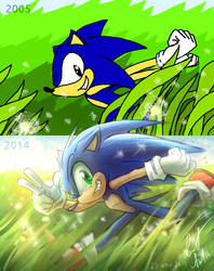 Draw This Again: Sonic the Hedgehog