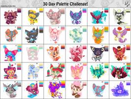 30 day palette challenge