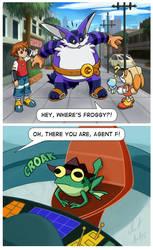 Hey, where's Froggy?!