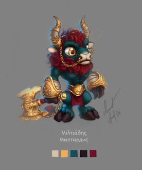 Little Minotaur Miltiadis