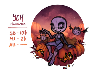 YCH Auctions: Halloween [CLOSED] by Ann-Nick