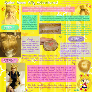 Sailor Moon Wig (Semi) Tutorial!