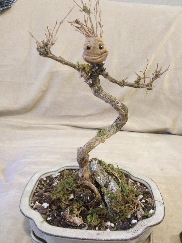 Dancing Bonsai Groot by breathelifeindeeply