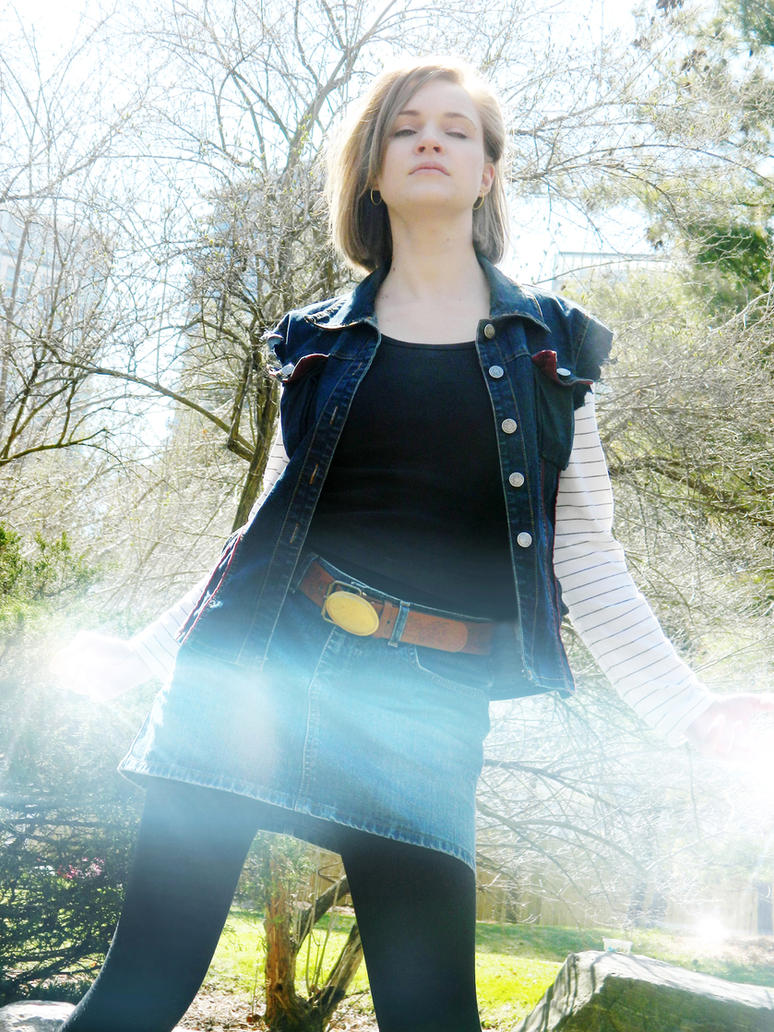 Android 18 by breathelifeindeeply