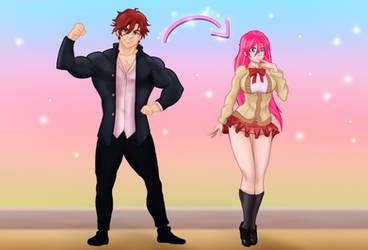 Sakura from Blossoming Love (fan art)