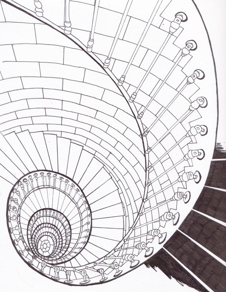 Spiral Staircase By Bluehybun On Deviantart